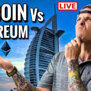 Bitcoin and Ethereum Live Price Predictions