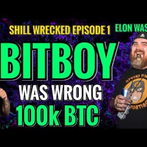 BITCOIN and ETHEREUM NEWS TODAY   SHILL WRECKED EPISODE 1