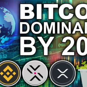 Bitcoin Global Dominance by 2050? (Most Important XRP and ETH News)