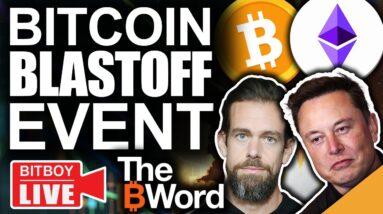 Bitcoin Pumping on News of Landmark Crypto Event (Moon Time?)