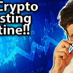Daily Crypto Investing Routine: My TOP TIPS & Resources!! 💯