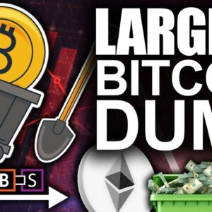 Largest Bitcoin Dump In All Of 2021! (Worst Crypto Weekend Selling Pressure)