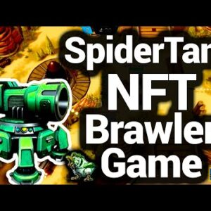 Spider Tank Game NFT MOBA Finally Revealed