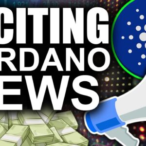 The MOST Exciting Cardano News (ADA for Crypto Adoption)