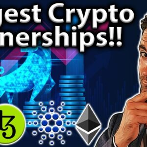 TOP 10 BIGGEST Crypto Partnerships in 2021!! 🤑