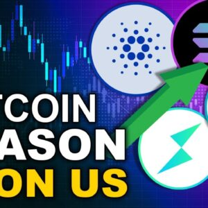 Altcoin Season is Upon Us! (Top 4 ALTS to watch)