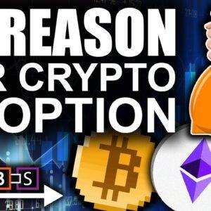 Bitcoin DROPPING NOW! (BTC & Crypto Adoption HERE!)