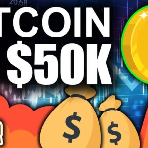 Bitcoin to $50k TODAY!?! (Best Sign for Crypto This Weekend)