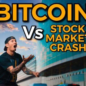 CRYPTO vs STOCK MARKET // IS THE STOCK MARKET GOING TO CRASH