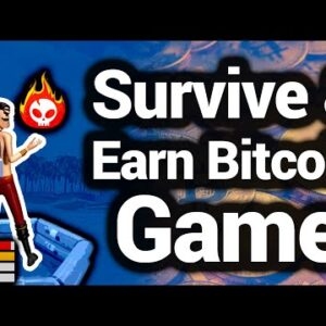 Earn Bitcoin Playing This NFT Survival Game (ARK Survival Style)