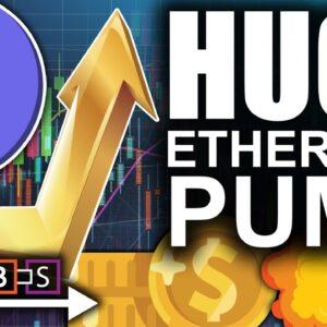 Huge Ethereum Pump Kills Resistance (Giant Break Out Firing Up)   BitBoy Crypto
