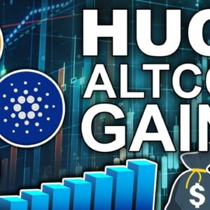 Huge Altcoin Gains 2021 (XRP Legal Battles Nearing Conclusion?)