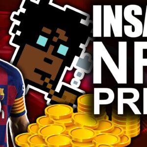 Insane NFT Price Explosion!! ($5 Million For A JPEG??)