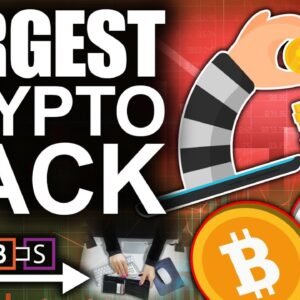 Most Crypto STOLEN Ever!!! (Largest DeFi Hack Steals $600 Million)