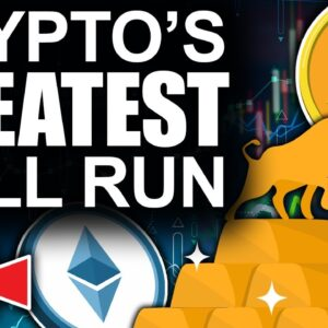 Crypto's Greatest Bull Run Just Starting (Largest Bitcoin Whales ACCUMULATING)