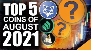 Top 5 Altcoins of August (Best Chance To Outpace Etherum)