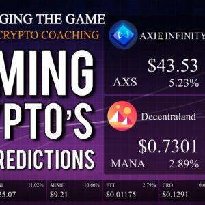 Top 5 Gaming Cryptocurrency's