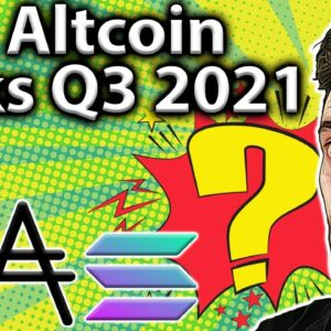 TOP Altcoin Picks 2021 Q3: SOLID Potential!! 💯
