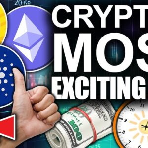 $50k Bitcoin $4000 Ethereum $3 Cardano! (Most Exciting Time For Crypto)