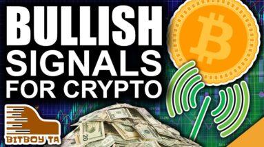 Bitcoin Hammer Time? (Bullish Signals Continue For Crypto)