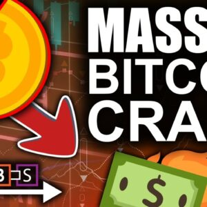 Massive Bitcoin Crash To Critical Level (Do Or Die Moment For Crypto)   BitBoy Crypto