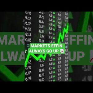 Markets Will Always Go Up In Value #stocks #finance #crypto #hodl