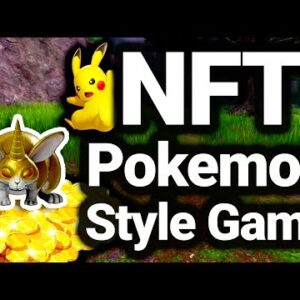 Pokemon Style Play To Earn NFT Game on Binance Smart Chain