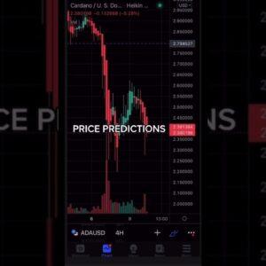 PRICE PREDICTED #xrp #Ada #bitcoin #eth #crypto