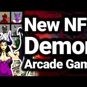 Stardew Valley Style NFT Arcade Game With DEMONS!