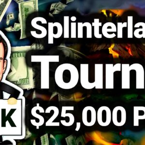 The 'Stache Classic Splinterlands NFT Tournament for $25,000 Prize