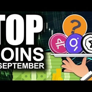 Top Coins For September (INSANE Profit Potential From These Tokens)
